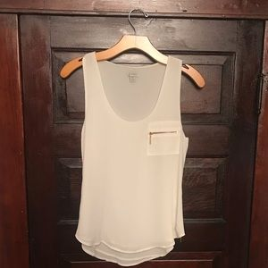 Guess Tank Top with Side Zippers